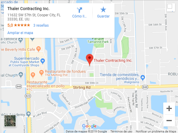 thaler contracting map location