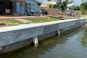 Signs of Seawall Failures