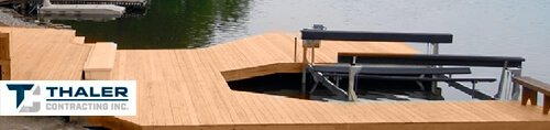 Call Thaler Contracting Inc to Get Professional Dock Installation & Repair